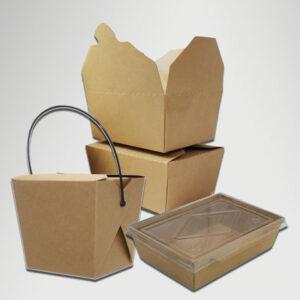 Kraft Takeout Box